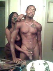 Amateur black couple fron New York,..