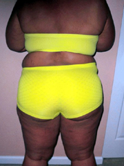 Amazing old black ladies in sexy yellow..