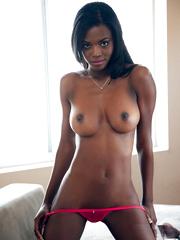 Busty ebony Danielle Nicole hypnotize..
