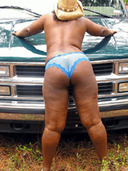 Some great outdoor black sex photos of..