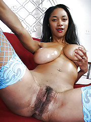 Black girl with huge tits Tyra Moore..