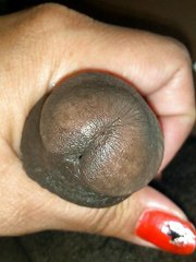 Hot black MILF services dickhead and..