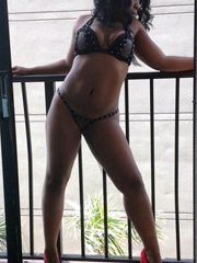 Curvy black girls posing in sexy lingerie