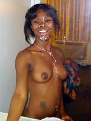 Amateur ebony hotties, cock sucking,..