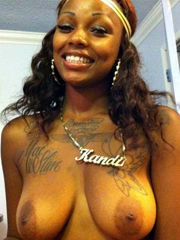 Horny Ebony Gf and Ex Girlfriend Naked