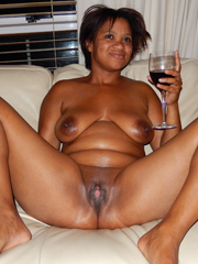 Fully nude black matures in this..