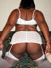Incredible sexual ebony with big..