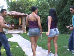 This is crazy, funny videos with beautiful ethnic babes who dance, flashing their shaved wet..