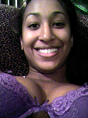 Picture gallery of a naughty ebony coed..