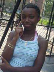 Amateur ebony teen