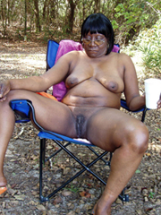 Naked black exhibitionists and swingers..